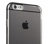 ESR® Essential Series Hard Crystal Clear Black Case Ultra Thin Light Weight Anti-Scratch PC Back Cover Case for iPhone 6