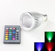 Focos Decorativa A E26/E27 10 W 1 LED de Alta Potencia 900 LM RGB AC 85-265 V 1 pieza