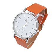 Women's Business Style PU Strap Watches