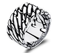 Stainless Steel Men's Ring