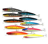 """4 Stück kleiner Fisch Angelköder kleiner Fisch g/Unze mm/4-1/2"""" Zoll,Fester Kunststoff Seefischerei Fischen im Süßwasser Spinnfischen"""