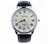 Xu™ Fashion Business And Leisure Roman Scale Level Of Waterproof Men's Watch