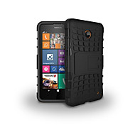 Mix Color TPU&PC Heavy Duty Armor Stand Case for Nokia Lumia 630(Assorted Colors)