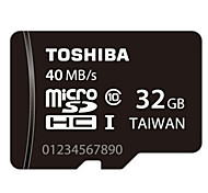 TOSHIBA 32GB Class10 UHS-1 MicroSDHC TF Memory Card 30MB/s Waterproof