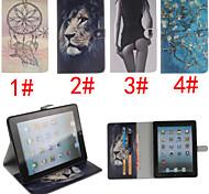 Marillenblüte Design PU-Leder Ganzkörper-Kasten für ipad mini 3, ipad mini 2, ipad mini