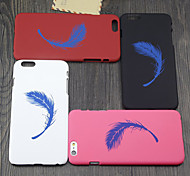 marea marchio amanti piuma opaco guscio ultra-sottile per iPhone 6 (colori assortiti)