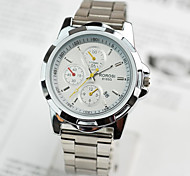 Men's Watches  Classic Three Eye Calendar Business  Man Watches Wrist Watch Cool Watch Unique Watch