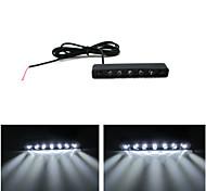 7 Hat Light / DC12V Motorcycle License Plate Lights Decorative Lights / LED Light Scattering