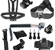 9-in-1 kit di accessori GoPro per GoPro Hero4 / 3 + / 3/2/1