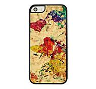 Tuschemalerei Leder Venenmuster Hard Case für iPhone 5/5 s