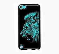 lion design en aluminium cas de haute qualité pour iPod touch 5