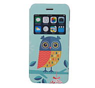 Scented Owl Pattern Windows Phone Holster for iPhone 6