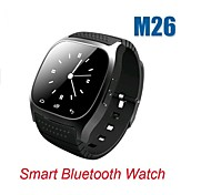 Smart Bluetooth Watch  M26 with LED Display Barometer Alitmeter Music Player Pedometer for Android IOS Mobile Phone