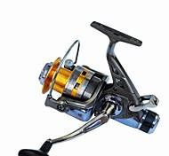Mulinelli da pesca Mulinelli per spinning 5.2:1 10 Cuscinetti a sfera IntercambiabilePesca di mare / Spinning / Pesca di acqua dolce /