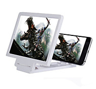 Universal Cell Phone Holder 3X Magnifier Enlarged Screen for iPhone Samsung