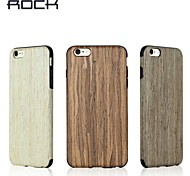 ROCK Apple's new style wood grain Total package soft shell business iphone 6/6S