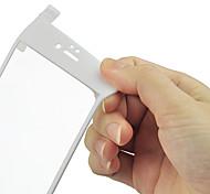 Protector de pantalla de fibra de carbono 3d borde redondo, gota hd clara prueba balística de vidrio templado de vidrio para el iphone 6s / 6 más