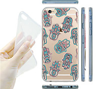maycari®national Muster transparente TPU Tasche für iPhone 6 / iphone 6s