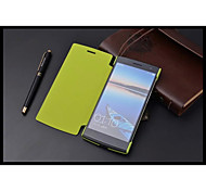 Leather And Pc Mobile Phone Case Cellphone Case Proetction Shell for OPPO Find7 (X9007)