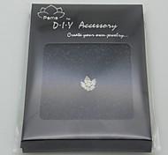 DIY Silver Charm Accessory- Flower