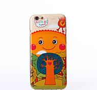 patrón feliz TPU caso suave para el iphone 6s 6 / iphone