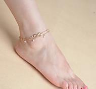 женская многослойные кисти жемчужина цепь одного браслет