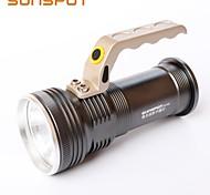 Linternas LED (Recargable / Empuñadura Anti Deslice / De alta potencia) - LED 3 Modo 360 Lumens LED / Cree XP-E R3 - para