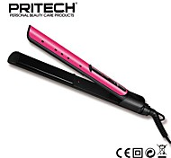 Straighteners Wet & Dry Ponytail Holders Ionic Technology / Dual Voltage / 450°F Maximum Temperature / Electric Red Normal PRITECH