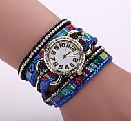 Xu™ Ladies' Fashion Color Formulation Of Cloth  Bracelet Quartz Watch Cool Watches Unique Watches