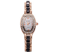 Ladies' Fashion Watch Korean Version Of The Retro Fashion Diamond Quartz Watch