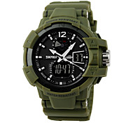 50 m Waterproof, Movement Of Japan, Japan Battery, Second Hand Timing, Double Display Sports Watch Wrist Watch Cool Watch Unique Watch