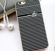 Seide Muster TPU schwarz-weiß gestreiften Mädchen Auge Mobile Shell für iphone 6 plus / iphone 6s plus (verschiedene Farben)