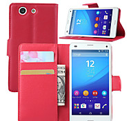 Luxury wallet Leather Case For Sony Xperia Z1/Z2A/Z3/Z4/Z1 Mini/Z3 Mini/Z4 Mini Leather Case With Credit Card Holder