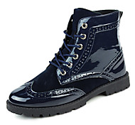 Men's Shoes Outdoor / Office & Career / Casual Boots Black / Blue / Brown / Yellow / Red