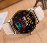 Women's Fashion Stripe Quartz Analog Fabric Bracelet Watch(Assorted Colors)