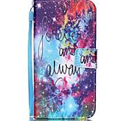 Bright Star Pattern PU Leather Phone Case For Galaxy S3/S4/S5/S6/S6 edge/Galaxy S6 edge Plus/S3 Mini/S4 Mini/S5 Mini