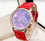 The Milky Way Stars Sky Stars Pattern Fashion Women's Watch pattern Wristwatch Special Birthday Gift saat Cool Watches Unique Watches Strap Watch