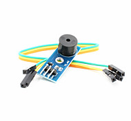Buzzer Alarm Module w/ 3-in-1 Dupont Cable - Blue (DC 3.3V~5V)