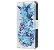 Für Acer Hülle Geldbeutel / Kreditkartenfächer / mit Halterung / Flipbare Hülle / Muster Hülle Handyhülle für das ganze Handy Hülle Frucht