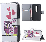 Owl Family Leather Wallet Flip Stand Cover Case For  Motorola MOTO G3 G 3nd Gen XT1552
