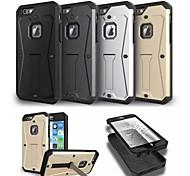 Специальная конструкция металлопластиковых силикон задняя крышка для Iphone 6 плюс