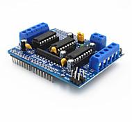 L293D Плата Управления двигателями Motor Drive расширения для Arduino - Синий