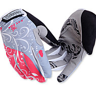 Ciclismo Mulheres / Homens Dedo TotalAnti-Derrapagem / Wearproof / Camurça de Vaca á Prova-de-Choque / Respirável / Resistente Raios