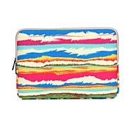 """Rainbow Stripe Prints Laptop Cover Sleeves Shakeproof Case for iPad Samsung MacBook 12"""" ThinkPad Surface HP  Dell Acer"""