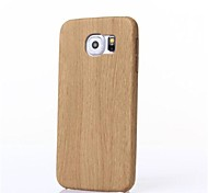 Heshishi Wood grain style mobile phone protection shell for Samsung Galaxy S6