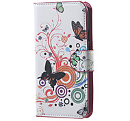 Butterfly Circles Magnetic Pattern Leather Wallet Flip Stand Cover Case For  Motorola MOTO G3 G 3nd Gen XT1552