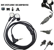 IE80 Headphones Original Unique Custom Design Noise insulation Professional Concert Bass Earphones for Samsung S6