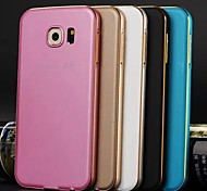 High Quality Protective Metal Bumper Frame with PC Back Cover for Samsung S6 (Assorted Colors)
