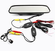 Wireless Rear View Camera Monitor for Chrysler/Chevrolet/Chevrole/Cadillac/Buick/BMW/Audi/Alfa/Acura/Aston Martin