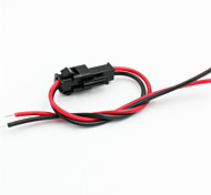 Modified Adapter / Jumper Female & Male Cables for R/C Car / Helicopter Model - Black + Red(5PCS)